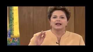 """Por Weliano Pires: """"Em seu pronunciamento, a presidANTA fingiu que a governANTA não era ela... Sobre os estádios custarem 8 vezes mais, nenhuma palavra; sobre o pibinho de 0,9 %, nada; sobre o prejuízo de 40% à Petrobrás, nada; Sobre Rose, a amante do Lula distribuir e lotear cargos no alto escalão do governo, nada; sobre a condenação dos seus auxiliares mensaleiros, nem um piu...Ah, vá catar coquinhos, Dona PresidANTA!"""" Pronunciamento da Presidenta da República, Dilma Rousseff, em cadeia nacional de rádio e TV: """"21 de junho de 2013Minhas amigas e meus amigos,Todos nós, brasileiras e brasileiros, estamos acompanhando, com muita atenção, as manifestações que ocorrem no país. Elas mostram a força de nossa democracia e o desejo da juventude de fazer o Brasil avançar...http://www2.planalto.gov.br/imprensa/discursos/pronunciamento-da-presidenta-da-republica-dilma-rousseff-em-cadeia-nacional-de-radio-e-tv"""