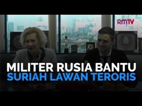 Militer Rusia Bantu Suriah Lawan Teroris