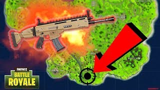 SCAR LOCATION IN SOLO! SCAR GUARANTEE + FAST LOOT | Fortnite
