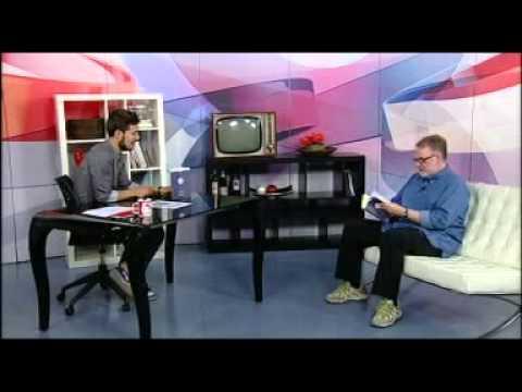 Entrevista a Pérez Antolín por 'Oscura Lucidez' en RTVCyL.