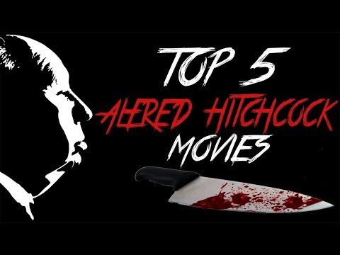 My Top 5 Alfred Hitchcock Movies | Bluraymadness