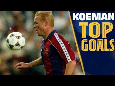 TOP 10 GOALS: RONALD KOEMAN ⚽