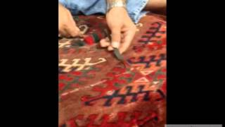 How to Reweave an Oriental Rug