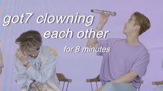 Video got7 clowning each other for eight(ish) minutes MP3, 3GP, MP4, WEBM, AVI, FLV September 2018