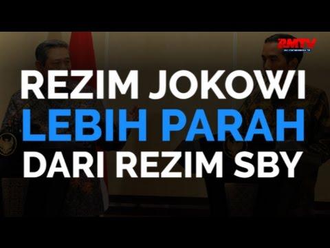 Rezim Jokowi Lebih Parah Dari Rezim SBY