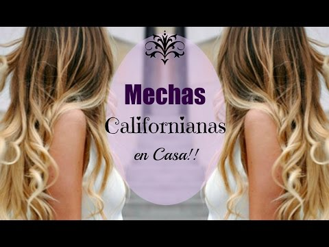 Mechas Californianas en Casa