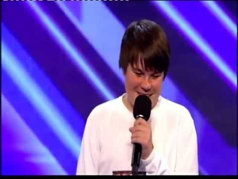 16 - 16 year old kid Sings a Michael Jackson song on British X-factor. Its a must see!! AWESOME!!!