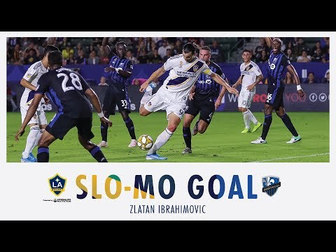 Video: SLO-MO GOAL: Zlatan Ibrahimovic scores his 27th goal of the season