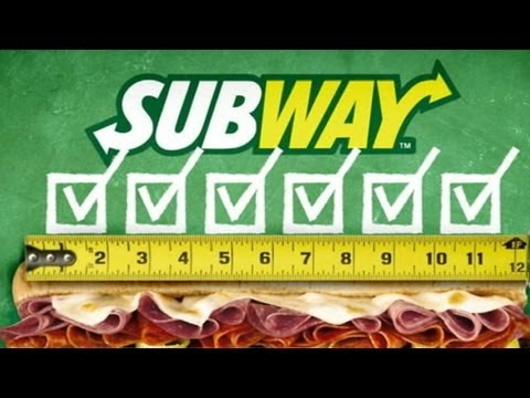 lawsuit - Two men in New Jersey are suing the sandwich chain, saying their