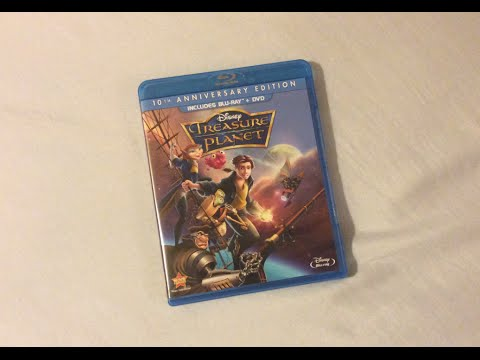 Treasure Planet (2002) Blu Ray Review and Unboxing