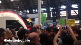 Milano. #NoBordersTrain, Verso I Binari Per Conquistarsi Il Treno - 21.06.14