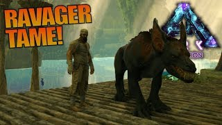 RAVAGER TAME! | ARK: Aberration | Let's Play ARK: Aberration Gameplay | S01E02