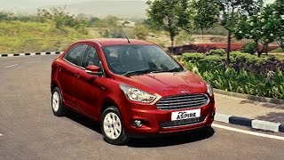 The sub 4-meter Figo Aspire sedan will be launched by Ford India on August 12th. Booking for the car has already started whereby one can pre-order this car with an upfront payment of Rs.30,000. The car comes with an Aston Martin styles grille similar to what we see on the Ford Fiesta. Special features of the Aspire sedan includes dual airbags in the standard and six airbags in the high end variants, Ford MyKey, MyFord Dock for charging smartphones and tablets, and a SYNC Infotainment system with Ford Applink. As far as engine of the car is concerned, the Ford Figo Aspire will be powered by two different engines for different variants. These include a 1.2 liter 88PS motor and a 1.5-liter 112PS engine. Both these engines will be connected to a 5-speed manual and a 6-speed automatic gearbox. As far as mileage goes, the Aspire sedan will come with 18.2kmpl and 25.8kmpl of mileage figures for the petrol and diesel versions respectively.