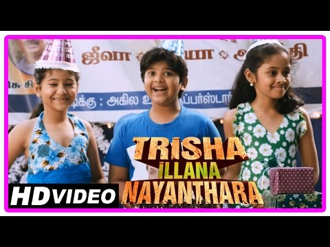 Trisha Illana Nayanthara Tamil Movie | Scenes | GV Prakash Kumar | Anandhi and Manisha's childhood