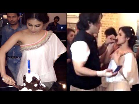 Mouni Roy celebrates Birthday with Boyfriend Mohit