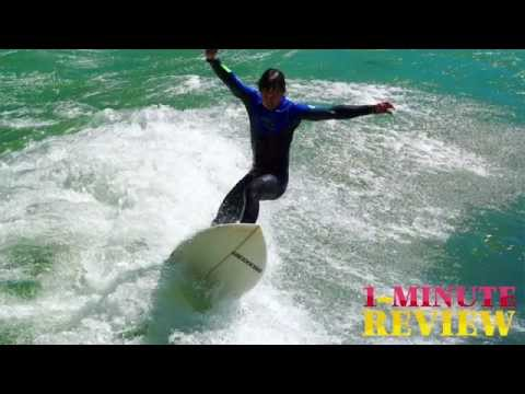 8' Soft Top Surfboard by Greco Surf * 1-MINUTE REVIEW