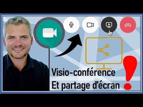 💥MEET 💥 Comment Créer une réunion avec une visio-conférence et partager son écran