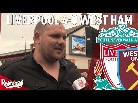 'Naby Keita Is Amazing!' | Liverpool 4-0 West Ham | West Ham Fan TV Reaction