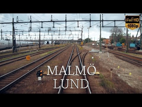 lund - Malmö - Ängelholm in six HD movie clips, filmed from inside the cabin. This is part 1 of 6: Malmö C to Lund C. Recorded on July 12th, 2009.