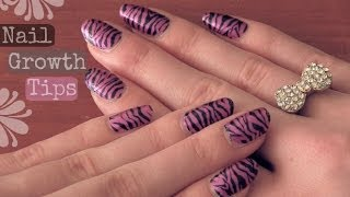 Grow Long, Strong Nails!♥ Natural How To