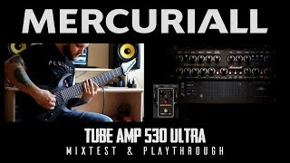 Finally!! Mercuriall Tube Amp 530 Ultra Mixtest & PlaythroughAlso i used new Mercuriall Greed Smasher VST OverdriveSubscribe: https://www.youtube.com/user/checkthedistMercuriall: https://mercuriall.com/cms/
