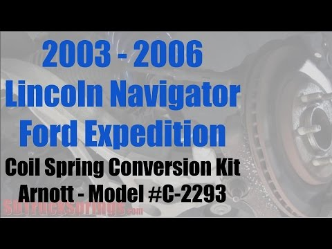 Arnott 2003-2006 Lincoln Navigator/Ford Expedition Coil Spring Conversion Kit – Model #C-2293