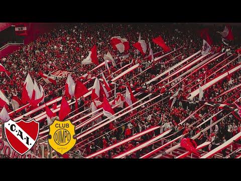 Independiente 3 - Olimpo 1 | Compilado de la hinchada - La Barra del Rojo - Independiente