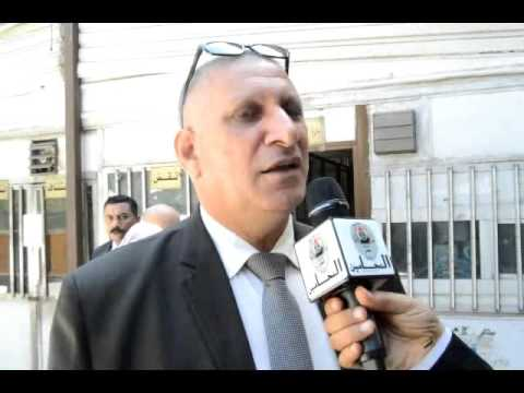 محمد عباس يقدم اوراق ترشحه علي المستوى العام لنقابة المحامين