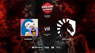 Team Liquid vs MangoBay, DreamLeague Minor Qualifiers EU, bo3, game 1 [Adekvat and Lost]