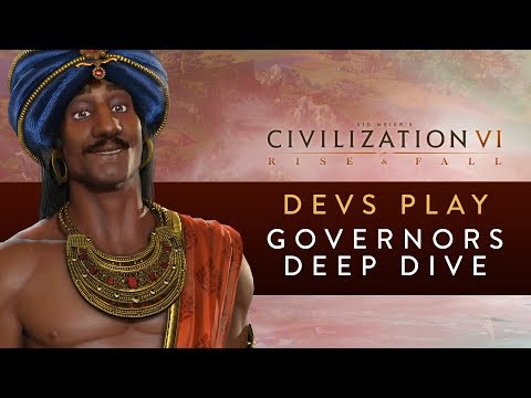 Civilization VI: Rise and Fall - Devs Play India (Governors Deep Dive)