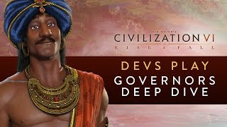 Video Civilization VI: Rise and Fall - Devs Play India (Governors Deep Dive) MP3, 3GP, MP4, WEBM, AVI, FLV Maret 2018