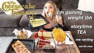 Video WATCH ME EAT | HUGE CHEESECAKE FACTORY MUKBANG EATING SHOW! MP3, 3GP, MP4, WEBM, AVI, FLV Desember 2018