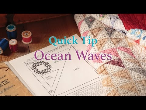 patchwork - ocean waves