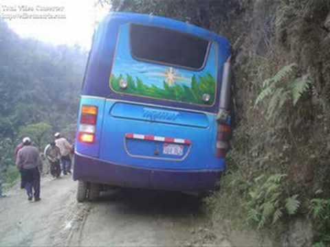 Las carreteras mas peligrosas del mundo(The roads most dangerous in the world)