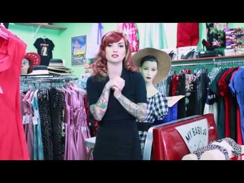 cherry dollface - Here it is ladies! For all of you that wanted to know how to dress rockabilly when it is winter and fall! http://www.mybabyjo.com Intro and Outro song: Red H...