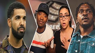 Drake - Duppy Freestyle (Pusha T & Kanye West Diss) | REACTION 😱🔥 | WHO'S BETTER 🤔 Infrared
