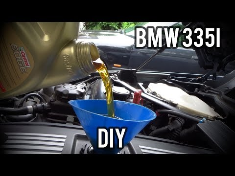 How To Change Your Oil (For Dummies)