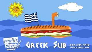 Vanellis Bistro Greek Sub Promo