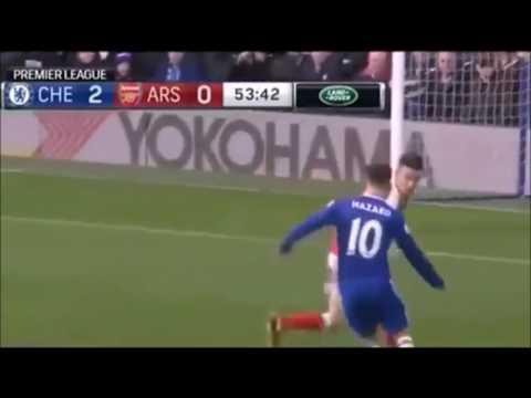 Chelsea vs Arsenal 3-1 All goals and highlight  5 Februari 2017