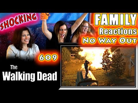 The Walking Dead | 609 | No Way Out | FAMILY Reactions | Fair Use