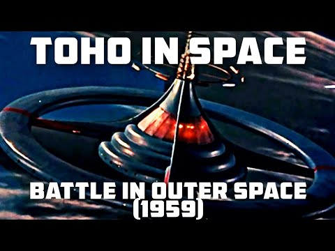 Battle in Outer Space (1959)   Toho in Space #2 - TitanGoji Tokusatsu Movie Reviews