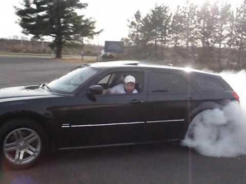 Dodge magnum burnout