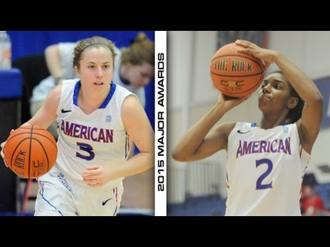 2015 Patriot League women's basketball major awards announced