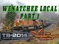 Train Simulator 2014 w/ Raildriver - Stevens Pass Route - Wenatchee Local Part 1