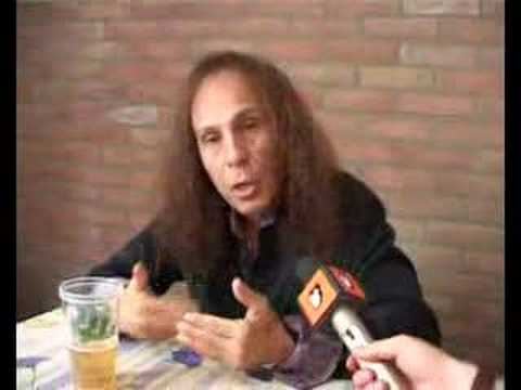 Dio interview (2006, Arrow Rock Festival) online metal music video by DIO