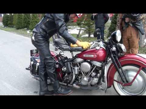 Harley-Davidson 1937 UL KICKSTART