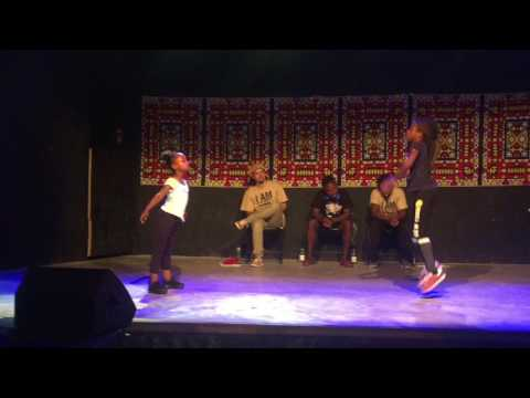 Afro Dance Battle || Angel VS Laura || Petit Afro's Students||