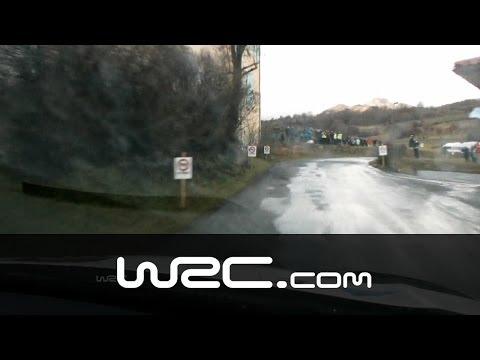 Vídeo Onboard Mads Ostberg en el tramo SS09 Rallye Monte Carlo 2014