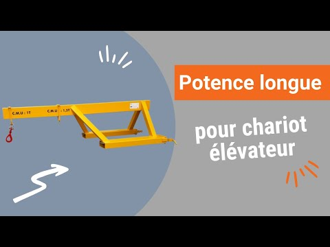 Video Youtube Potence de chariot longue à crochet