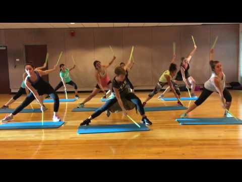 """LIGHT 'EM UP"" By Fall Out Boys - Dance Fitness Workout With Drum Sticks Valeo Club"